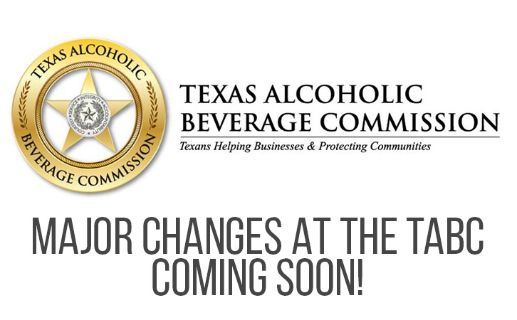Changes at the TABC coming soon